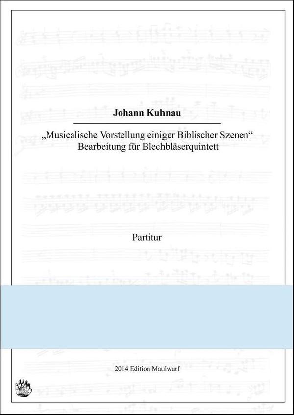 Kuhnau Sonata 1 (Blechbläserquintett)