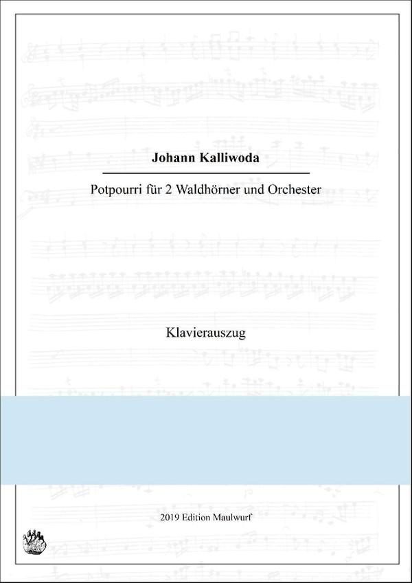 Potpourri für 2 Hörner und Klavier