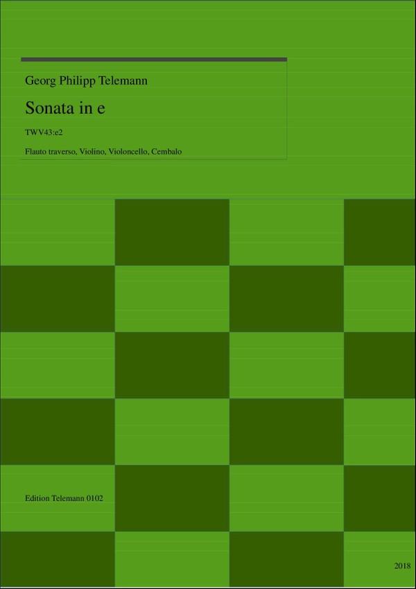 0102 Sonata in e TWV43:e2