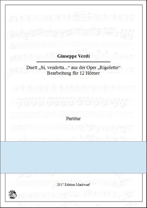 Rigoletto Duett (Hornensemble)