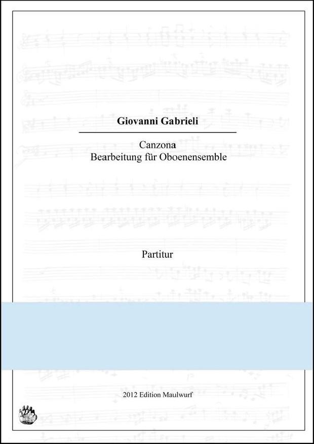 Gabieli Canzona (Oboenensemble)