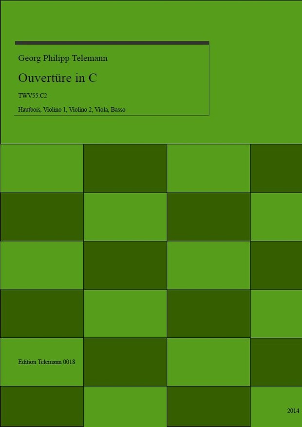 0018 Ouverture in C TWV55:C2
