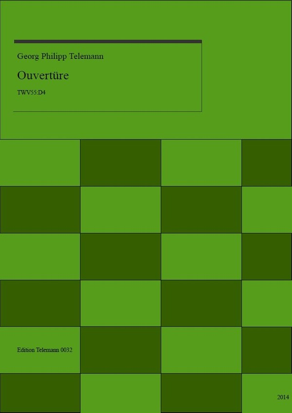 0032 Ouverture in D TWV55:D4