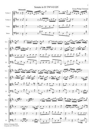 0045 Sonata in D