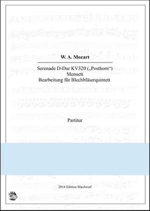 Mozart Menuet (Blechbläserquintett)