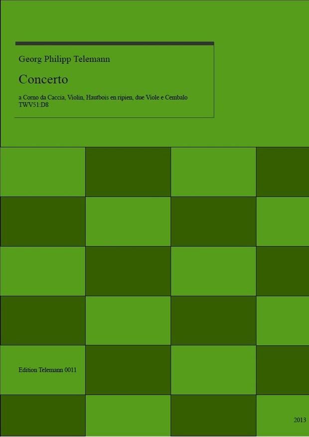 0011 Concerto in D TWV51:D8