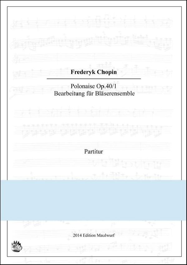 Chopin Polonaise (Bläserensemble)