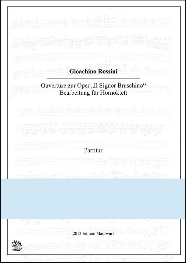 Rossini Ouvertüre (Hornensemble)