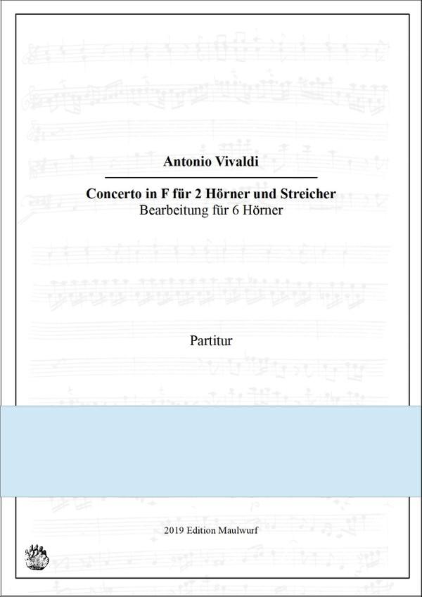 Vivaldi Concerto für 2 Hörner