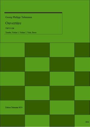 0024 Ouverture in D TWV55:D8