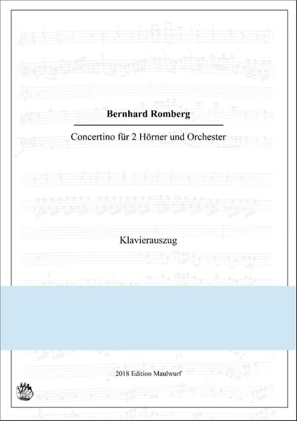 Romberg Concertino Klavierauszug