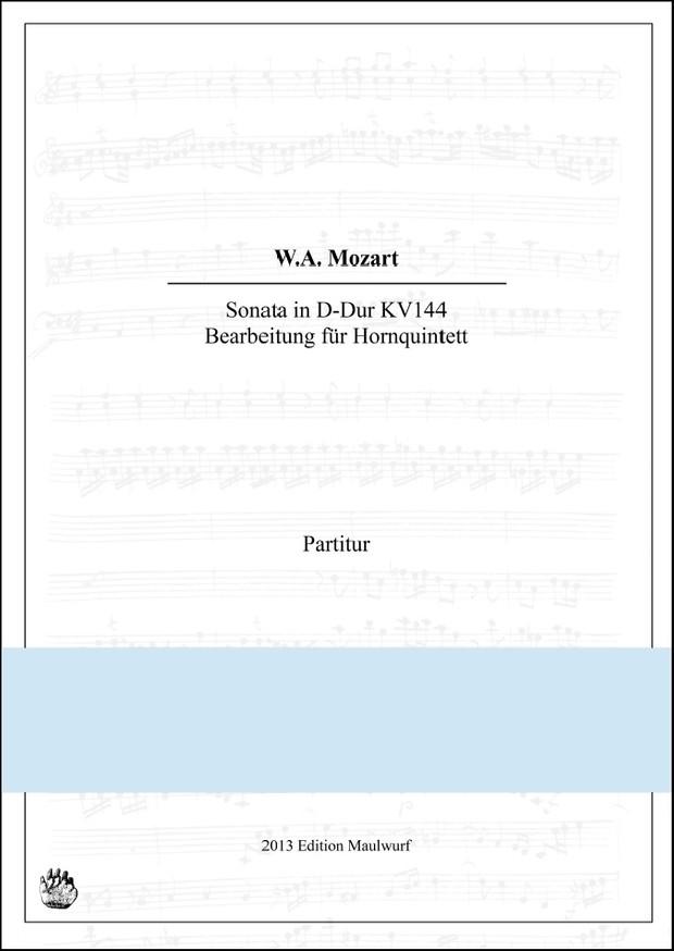 Mozart Sonate (Hornquintett)