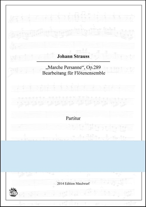 Marche Persanne (Flötenensemble)