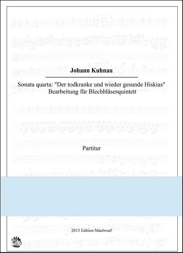Kuhnau Sonata 4 (Blechbläserquintett)