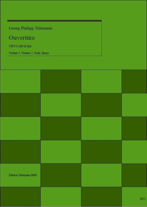 0008 Ouverture in D TWV55:D9