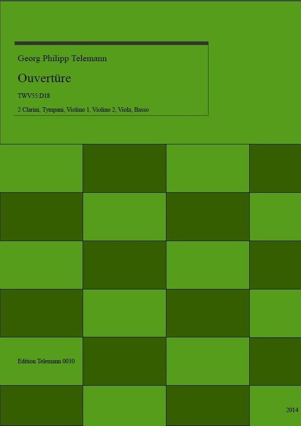 0030 Ouverture in D TWV55:D18