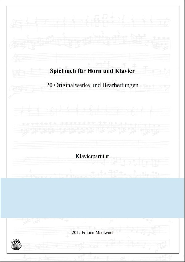 Spielbuch für Horn und Klavier