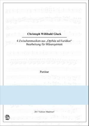 Ch.W. Gluck: 4 Stücke