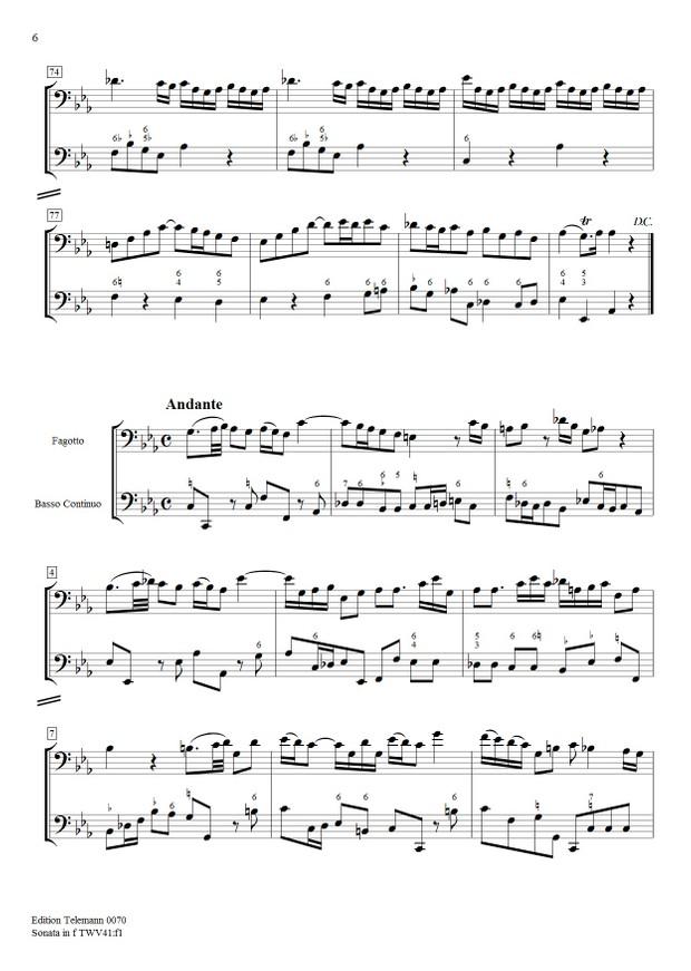 0070 Sonata in f TWV41:f1