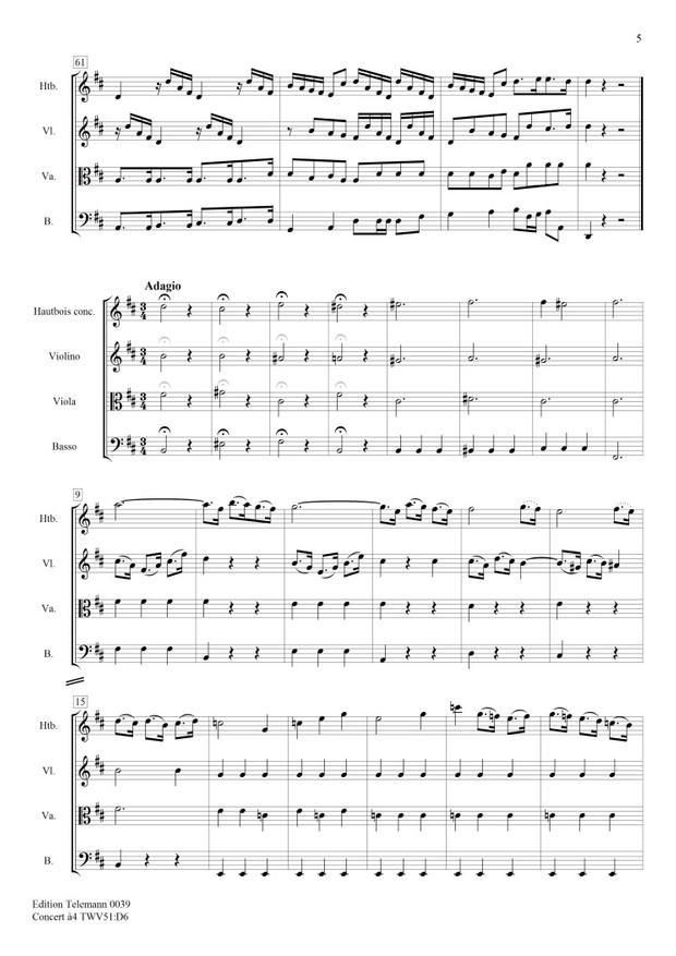 0039 Concerto à4 in D