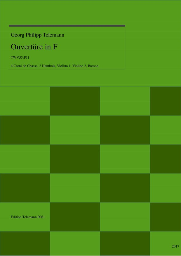 Ouverture in F TWV55:F11