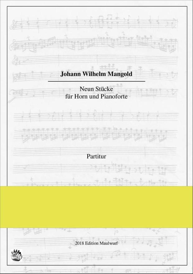9 Stücke  für Horn und Pianoforte