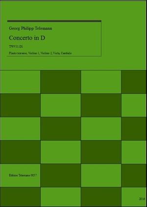 Telemann Concerto in D TWV51:D1