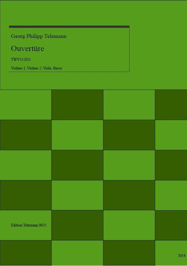0025 Ouverture in D TWV55:D11