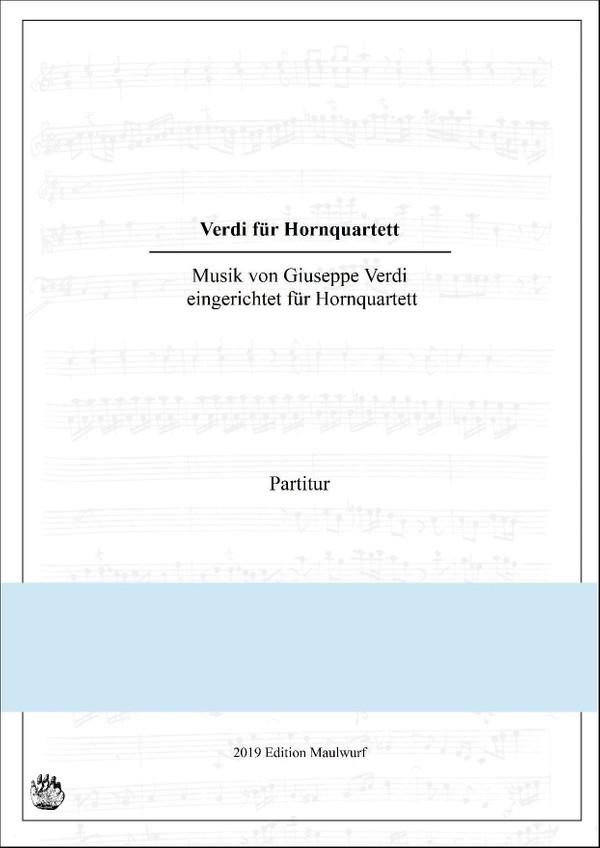 Verdi für Hornquartett