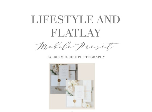 Perfect Flat Lay and lifestyle Mobile Preset