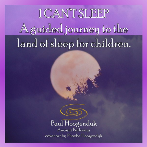 I Can't Sleep. A Guided journey to the land of sleep for children.