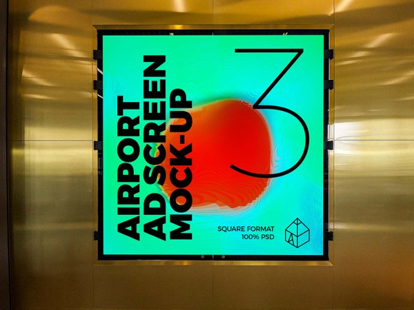 Airport Ad Screen Mock-Ups 9