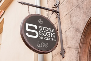 Store Signs Mock-ups 4