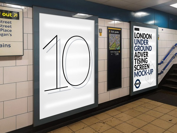 London Underground Advertising Screen Mock-Ups 16