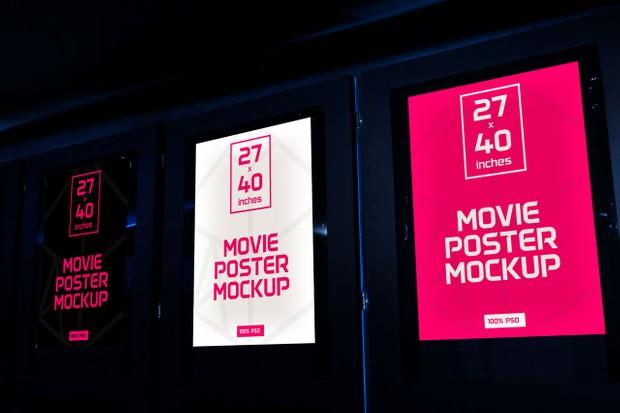 Movie Poster Mockups