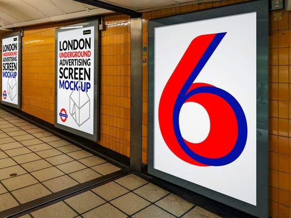 London Underground Advertising Screen Mock-Ups 6