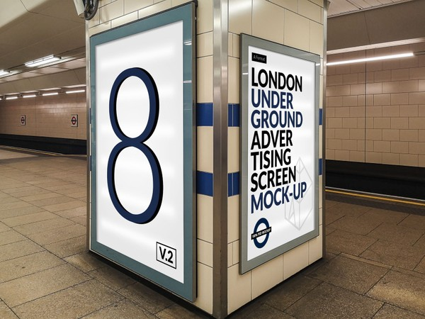 London Underground Advertising Screen Mock-Ups 15