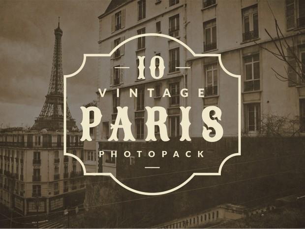 Vintage Paris Photopack