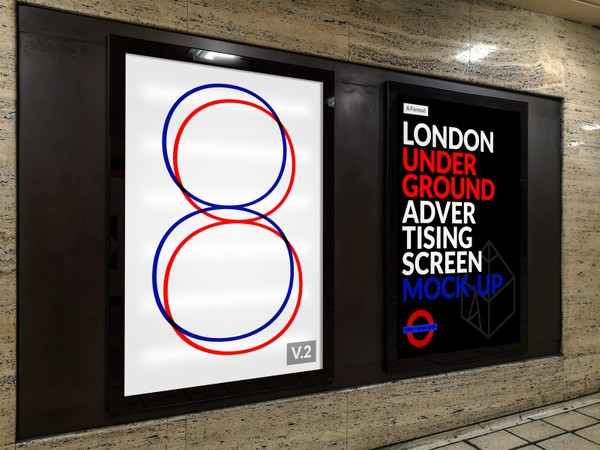 London Underground Advertising Screen Mock-Ups 10
