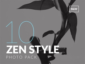 Zen Style Photo Pack