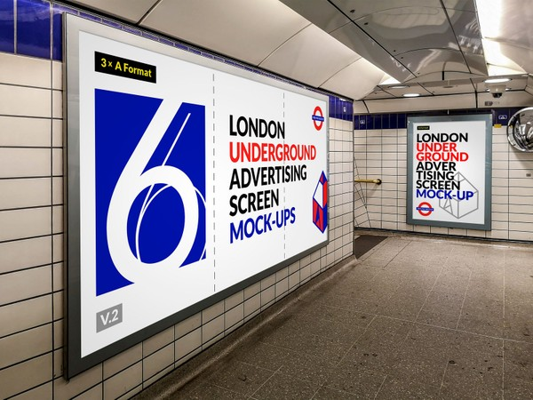 London Underground Advertising Screen Mock-Ups 12