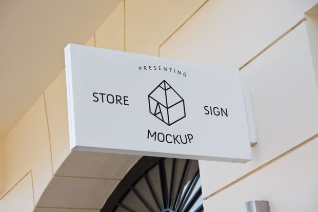 Store Signs Mock-ups 2