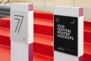 Film Festival Poster Mockups