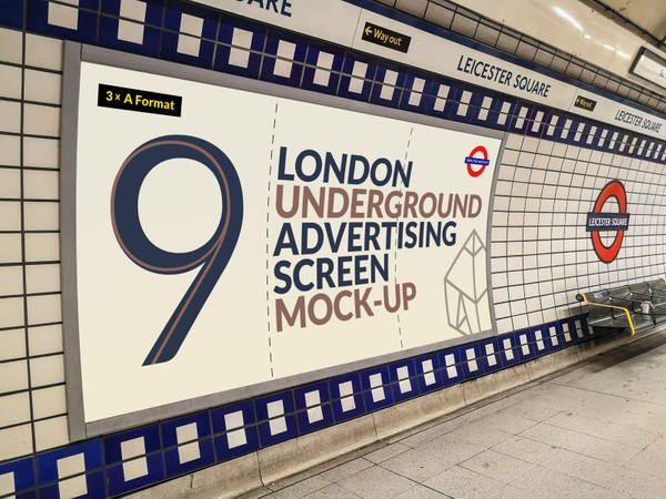 London Underground Advertising Screen Mock-Ups 17