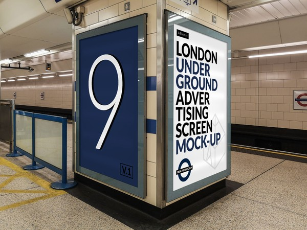 London Underground Advertising Screen Mock-Ups 14