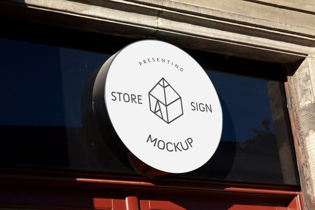 Store Signs Mockups