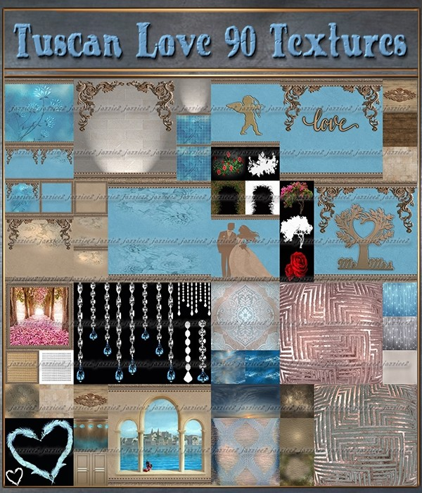 Tuscan Love 90 Textures