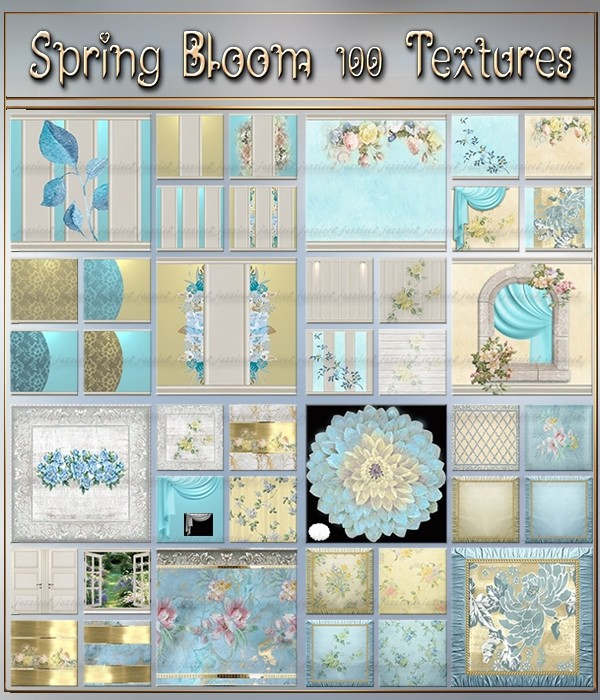 Spring Bloom 100 Textures