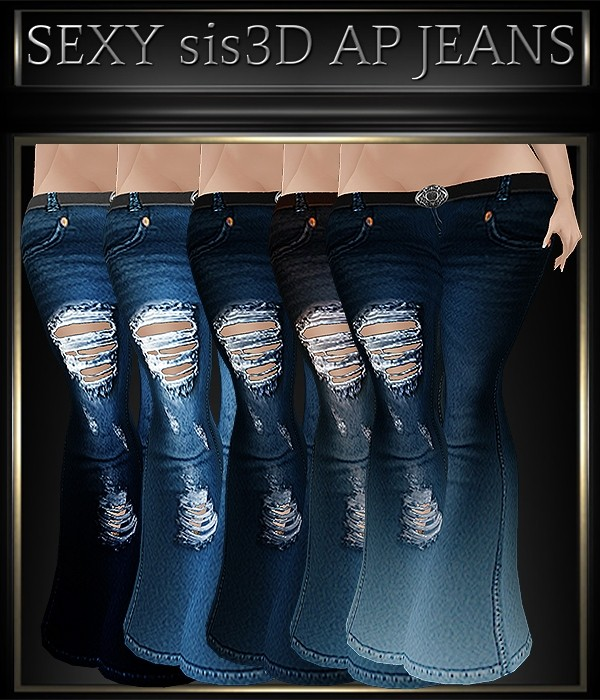 A~SEXY JEANS-30 TEXTURES