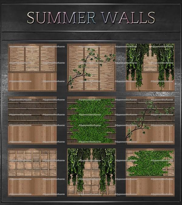 A~SUMMER WALLS-106 TEXTURES
